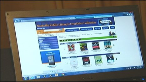 More libraries lending out electronic books | Tennessee Libraries | Scoop.it