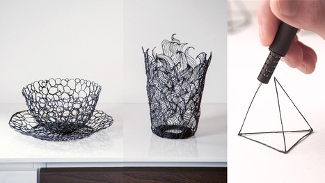 LIX: The World's Smallest 3D Printing Pen Lets You Draw in the Air | 3Dprinting | Scoop.it