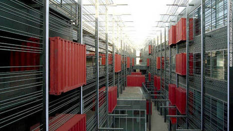 Shipping containers used for first 'pop-up' shopping mall | sustainable architecture | Scoop.it