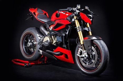 Ducati 1199 Panigale Streetfighter by Hertrampf | Ductalk Ducati News | Scoop.it