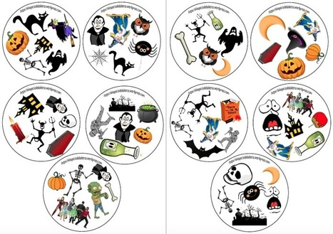 Dobble de Halloween | Español para los más pequeños | Scoop.it