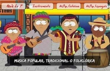 Coneguem la Música Popular o Folklòrica del nostre país i d'arreu del món | Recursos interessants | Scoop.it