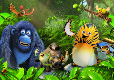 WorldScreen.com - TV Kids | PGS Inks Asian Deals for Jungle Bunch | The Jungle Bunch | Scoop.it
