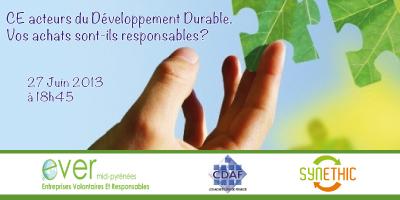 Soirée des acheteurs durables EVER Le 27 Juin 2013 dès 18h45 à La Cantine Toulouse | L'Univers du Cloud Computing dans le Monde et Ailleurs | Scoop.it