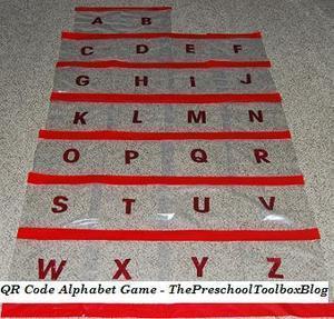 Printable A to Z Alphabet QR Code Game for Preschool & Kindergarten!   The Preschool Toolbox Blog   Εδώ Νηπιαγωγείο   Scoop.it