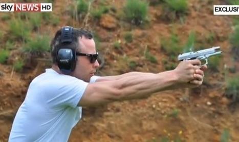 Oscar Pistorius filmed using gun which killed girlfriend Reeva ... | Oscar Pistorious Trial | Scoop.it