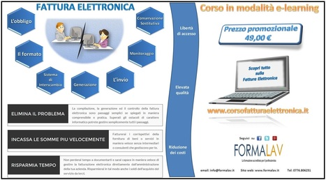 FATTURA ELETTRONICA | e-learning | Scoop.it