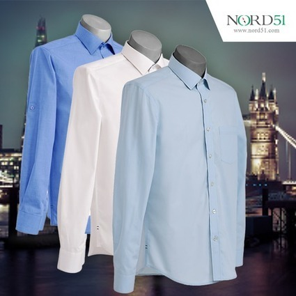 Get the best formal shirts for men | Nord51 | Scoop.it