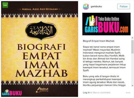 Buku Biografi 4 Imam Mazhab   KatalogBukuOnline   Scoop.it