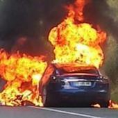 Pays basque: En plein essai, une voiture électrique prend feu   Cote-basque way of life   Scoop.it