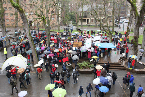 Faculty and students rally for higher education » Portland State ... | Pedagogy and Human Sciences | Scoop.it