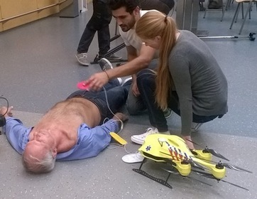 TU Delft's ambulance drone drastically increases chances of survival of cardiac arrest patients | iPad | Scoop.it