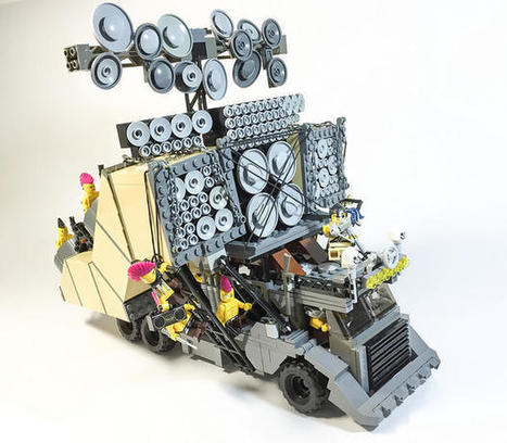 LEGO Replicas of the 'Mad Max: Fury Road' Vehicles | Heron | Scoop.it
