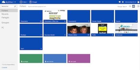 Microsoft SkyDrive: quelques nouveautés intéressantes | Astuces | Scoop.it