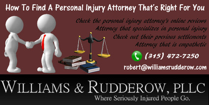 How To FInd The Personal Injury Attorney | Syracuse Attorney | Scoop.it