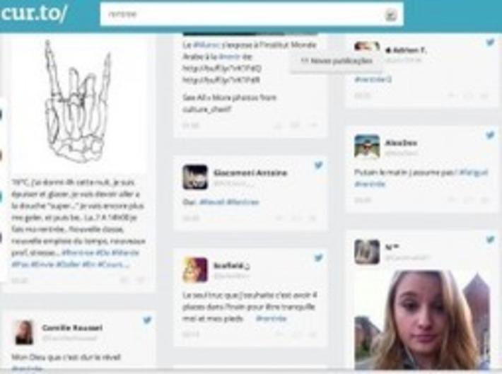 Cur.to Suivre un sujet sur les reseaux sociaux - Les outils de la veille   TIC et TICE mais... en français   Scoop.it