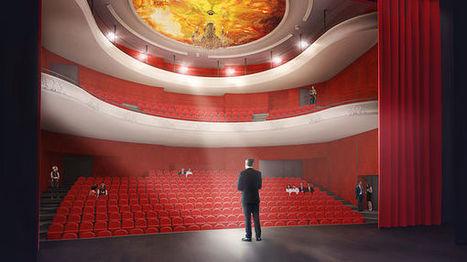 Montélimar : le futur théâtre sera moderne, épuré, tout en conservant son style à l'italienne   théâtre in and off   Scoop.it