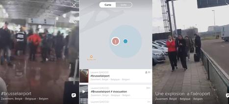 Attentats de Bruxelles : Periscope, une application pas si inoffensive | Fresh from Edge Communication | Scoop.it