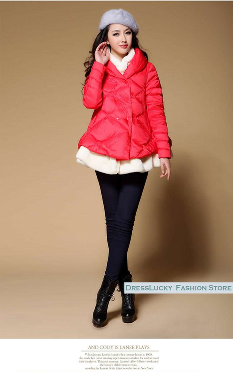 Discount HOT Sale Korean style winter women's down jackets maternity outerwear coats in women down parkas on sightface.com | Latest for share | Scoop.it