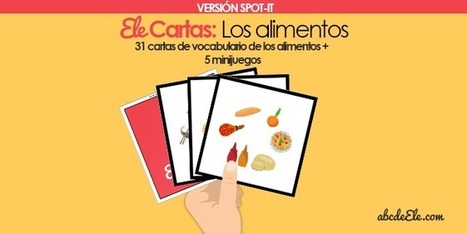 � Ele Cartas: Los alimentos | Español para los más pequeños | Scoop.it