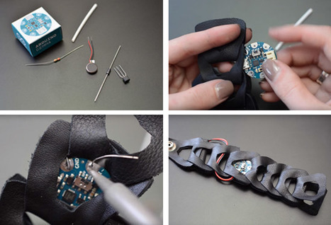 Make your first wearable with Arduino Gemma | Raspberry Pi | Scoop.it