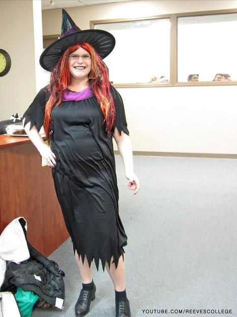 Reeves College Halloween Costumes in Lethbridge, Alberta on October 31, 2013 | Reeves College in Alberta Canada | Scoop.it