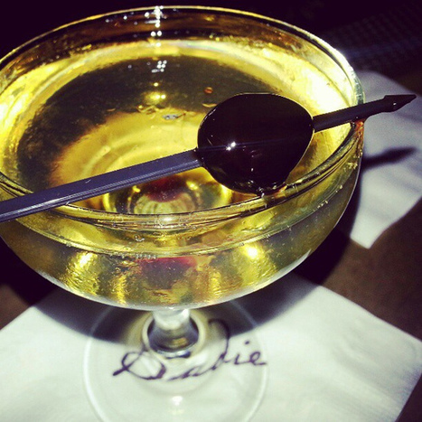 Bijou with Bombay East, green chartreuse,  sweet vermouth, orange bitters | The Mystery of the Chartreuse Liqueur | Scoop.it