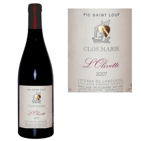 Un Vin... Un jour : L'Olivette 2009, Clos Marie - Coteaux du Languedoc AOC - Pic Saint-Loup | Vin et agroécologie | Scoop.it
