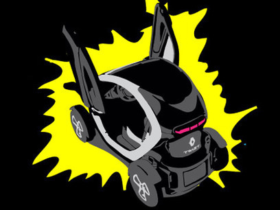 RENAULT TWIZY BY CATHY & DAVID GUETTA | Everything about Flash | Scoop.it