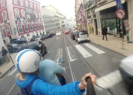 Lisbon by trolley & vespa | Vespa Stories | Scoop.it