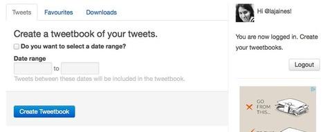 En la nube TIC: Tweetbook, crea un pdf con tus tuits y/o favoritos | Squeezing Twitter | Scoop.it