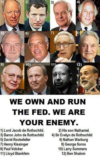 We own and run the FED   Economic & Multicultural Terrorism   Scoop.it
