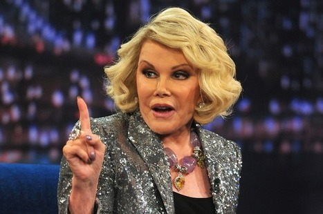 Joan Rivers: 'Palestinians deserve to be dead' | Xpose Corrupt Courts | Scoop.it