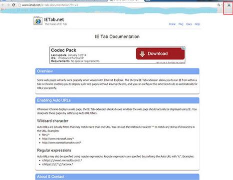 Cài đặt IETab cho Chrome dùng để kê khai thuế online     Nam lim xanh   Scoop.it