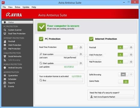 Avira Antivirus Premium 2013 13.0.0.2681 - Golden ware | goldenware | Scoop.it