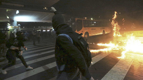Brazil riot police teargas bus fare-rise protesters amid mass clashes (PHOTOS, VIDEO) | Saif al Islam | Scoop.it