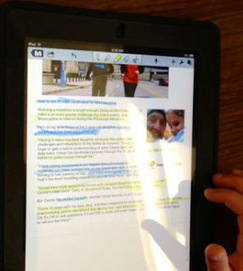 iDevice in the Mountains: Annotating Online Articles Using Noteability   Drifting with iPads and iPods   Scoop.it