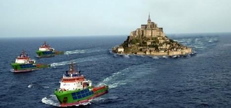 À la dérive après la tempête, les Bretons refusent de rendre le Mont-Saint-Michel | The Blog's Revue by OlivierSC | Scoop.it