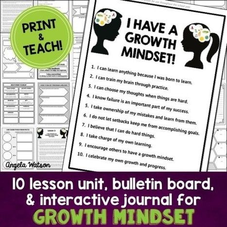 How to cultivate a growth mindset to enjoy teaching more   E-learning   Scoop.it