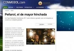 La Conmebol destaca a los hinchas de Peñarol - Diario EL PAIS - Montevideo - Uruguay | Peñarol | Scoop.it