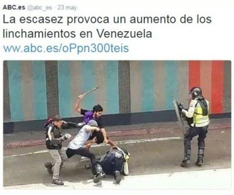 Diario derechista español ABC lincha la verdad sobre Venezuela — Venezolana de Televisión | Política para Dummies | Scoop.it