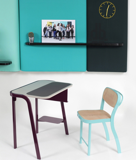 Re-thinking traditional school furniture - So You Know Better | Sharing news from the world of interior design | Scoop.it