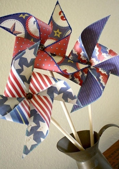 22 Fourth of July crafts made with Mod Podge. - Mod Podge Rocks | Crafts and DIY | Scoop.it