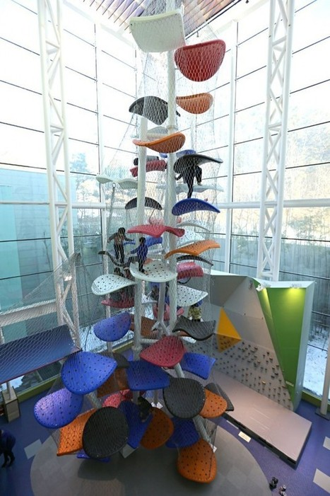 Gyeonggi Children's Museum Climbing Gym by Luckey | Misc | Scoop.it