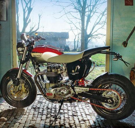 """Triumph Bonneville """"Hommage T 140"""" by Totti Motori   Triumph Classic   Scoop.it"""
