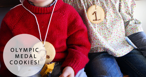 Cooking with kids: olympic medal cookies | Village Voices | learning all about food | Scoop.it