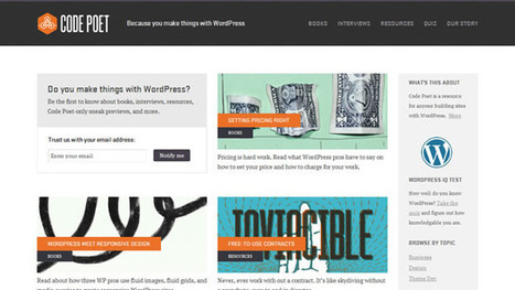 Code Poet – New resource from the guys behind WordPress   Startup Revolution   Scoop.it