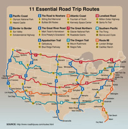 Eleven must-do road trips in the US | Daily Dose of Awesomeness | Scoop.it