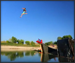 Human Slingshot 2X - The Awesomer | New Hampshire Kiteboarding | Scoop.it