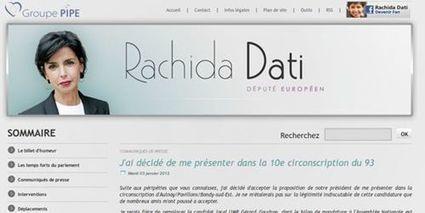 INTERNET : Les usurpateurs de l'identité numérique de Rachida Dati condamnés | LexTimes.fr | Droit de l'économie numérique | Scoop.it